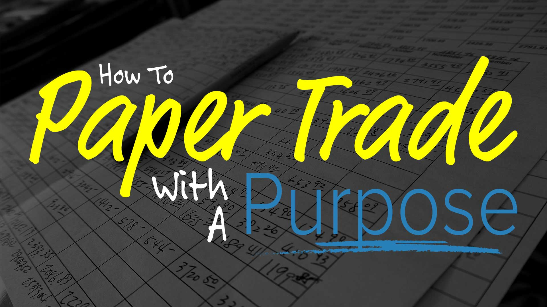 Practice Trading, Paper Trading - Econ Alerts