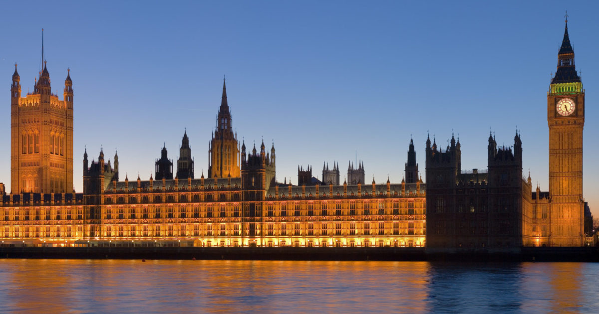 Palace Of Westminster - Econ Alerts