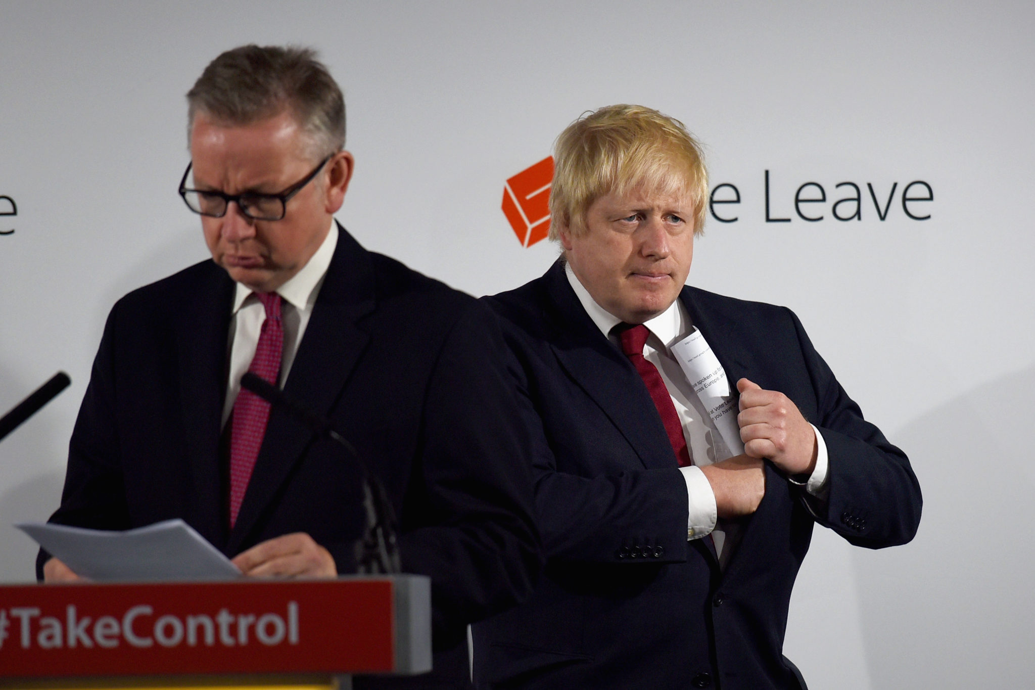 Boris Johnson and Michael Gove - Econ Alerts