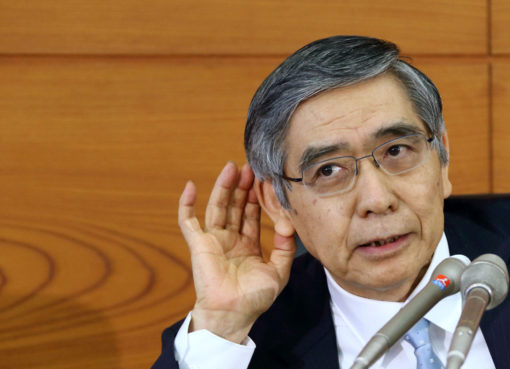 Bank Of Japan Governor Haruhiko Kuroda | Econ Alerts