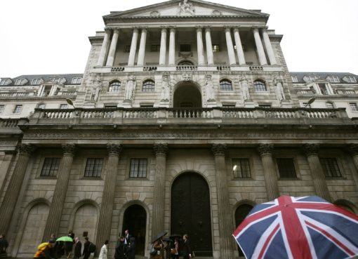 bank of england and british umbrella | EconAlerts