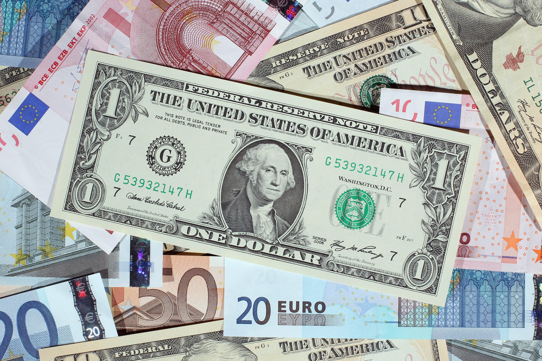 Euros and Dollars | EconAlerts