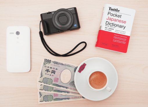 japanese money, camera, phone, dictionary, coffee | EconAlerts