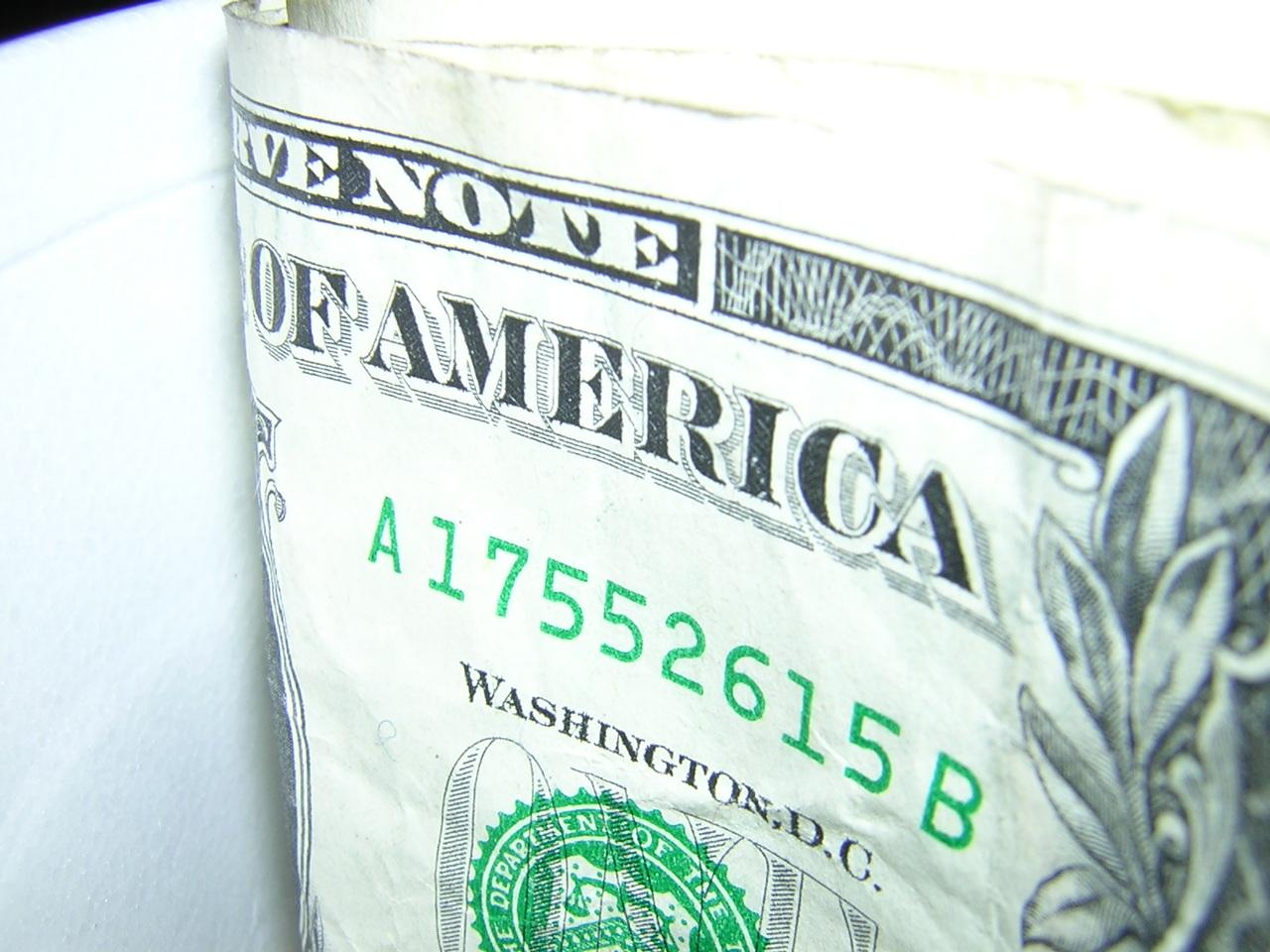 one dollar bill | EconAlerts