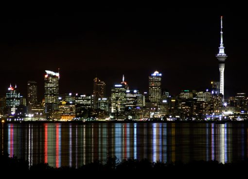 auckland at night | EconAlerts